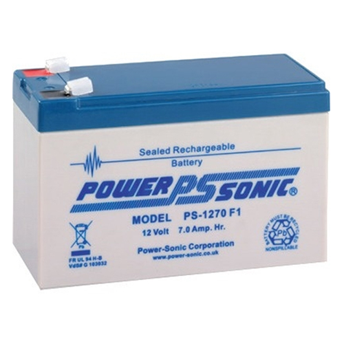 PS1270 Batteri 12V / 7Ah