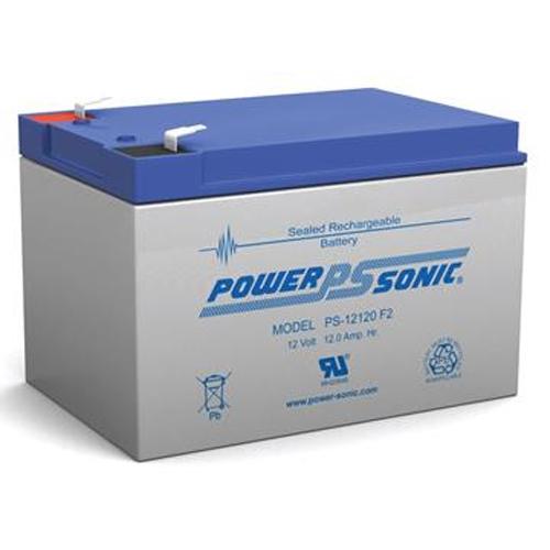 PS12120, Batteri 12V / 12Ah