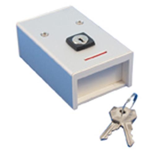 MA269 Overfallsknapp m/nøkkel