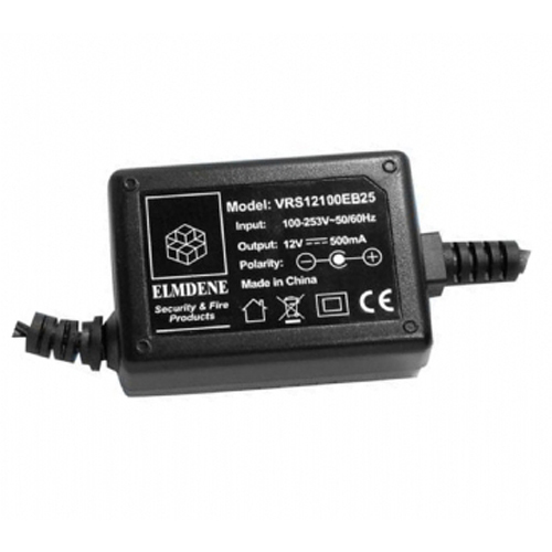 Elmdene Vision AC-adapter - 120 V AC, 230 V AC Input Voltage - 12 V DC Output Voltage - 1 A Output Current