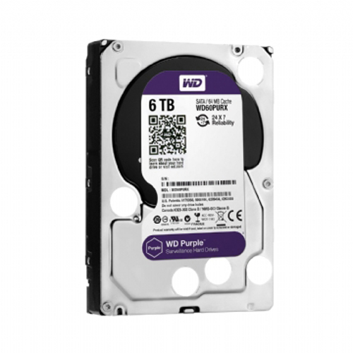 HDD WD60PURX Purple 6TB