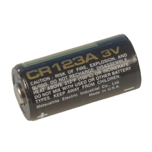 CR123A   3V Lithium batteri