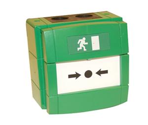 WCP4A-G000SG grønn nødåpner