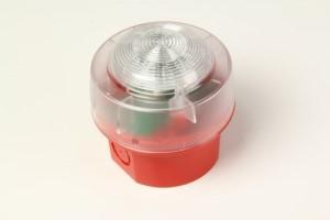 Blitz KAC Rød LED IP65 EN54-23
