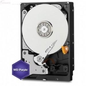 """Hikvision Purple WD40PURZ 4 TB 3.5"""" Intern Harddisk - SATA - 5400rpm - 64 MB Buffer"""