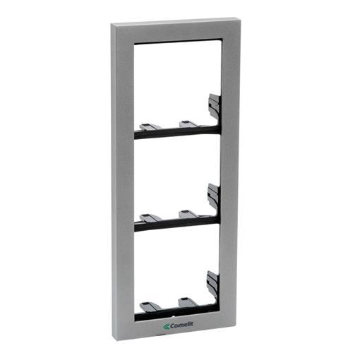 DOOR ENTRY FRAMES IKALL 3-MODULE, SILVER