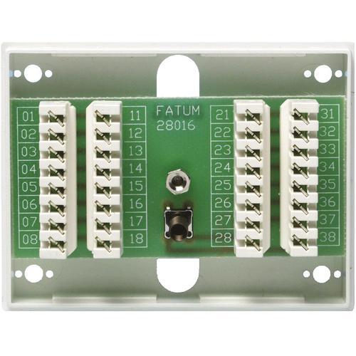 Fatum 28016.01 16pol-par slot