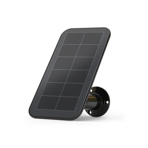 Arlo Black Solar Panel Charger For Arlo Ultra And Pro 3