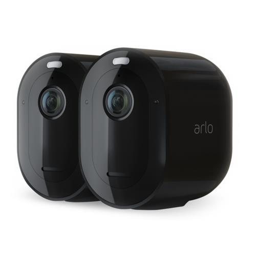 Arlo Pro 3 2K QHD Wireless Black Spotlight 2 Camera Kit