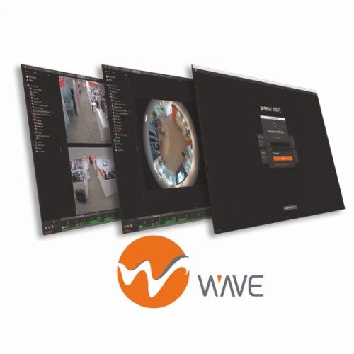 S/WARE LICENSE WiseNet Wave 16 Ch video