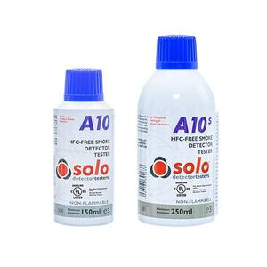 SOLOA10, Test gass røyk det.