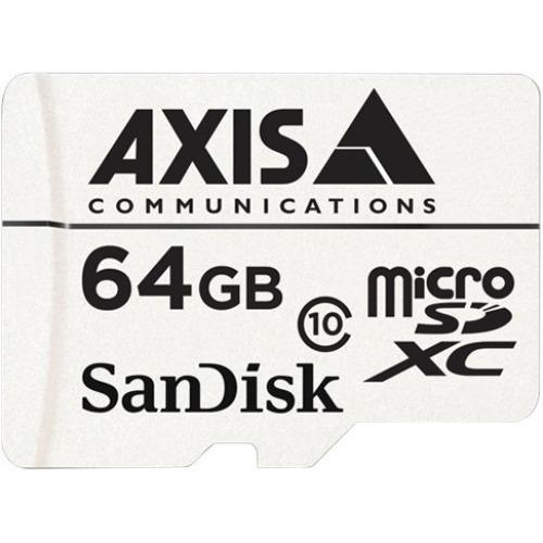 AXIS 64 GB microSDXC - Class 10 - 20 MB/s Lesehastighet - 20 MB/s Skrivehastighet