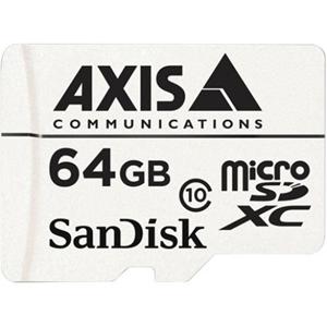 AXIS 64 GB microSDXC - Class 10 - 20 MB/s Lese - 20 MB/s Skriv