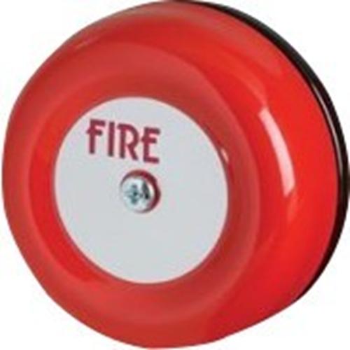 Fulleon sikkerhet Alarm - 28 V DC - 95 dB(A) - Hørbar - rød, Svart