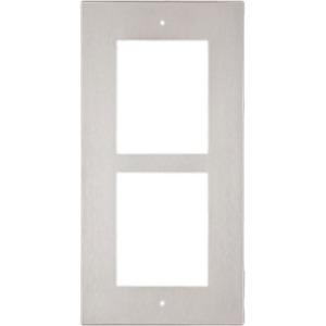 2N Faceplate - 2 x Total Number of Socket(s) - Nikkel - Veggmontering